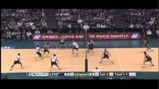 Hawaii Warrior Men Volleyball 2015 - #6 Hawaii Vs #5 Pepperdine