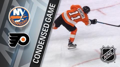 01/04/18 Condensed Game: Islanders @ Flyers