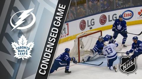 01/02/18 Condensed Game: Lightning @ Maple Leafs