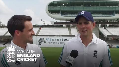 Alastair Cook names England's team ahead of Lord's