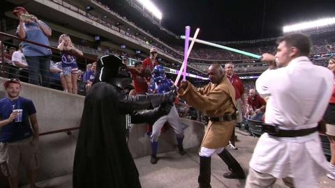 TB@TEX: Globe Life Park celebrates Star Wars Night