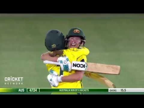 Australia v England - Women's Ashes, first T20