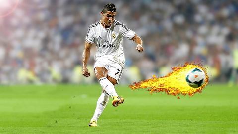 Cristiano Ronaldo Knuckleball Free Kick Tutorial (2016)