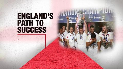 England's path to success