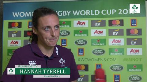 Irish Rugby TV: Hannah Tyrrell - Japan Post Match