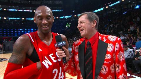 Kobe Bryant Half Time Interview with Craig Sager