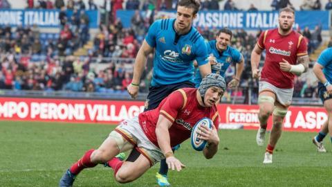 Extraits officiels : Italie 7-33 Galles