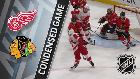 01/14/18 Condensed Game: Red Wings at Blackhawks