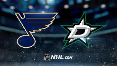 Janmark, Johns lead Stars past Blues, 2-1