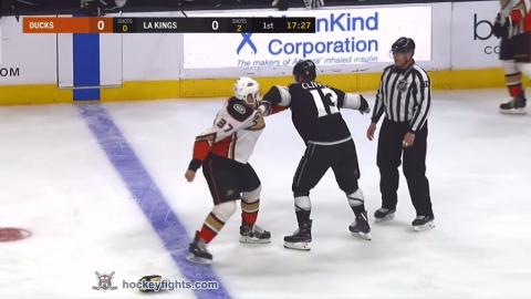 Nick Ritchie vs Kyle Clifford Jan 13, 2018