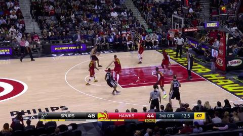 Paul Millsap Drops 32 Points as Hawks Top Spurs in OT