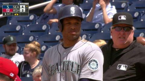 SEA@WSH: Cano rips an RBI single to right field