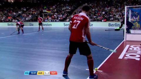 Australia v Austria - Match Highlights Indoor Hockey World Cup - Men's Semi Final