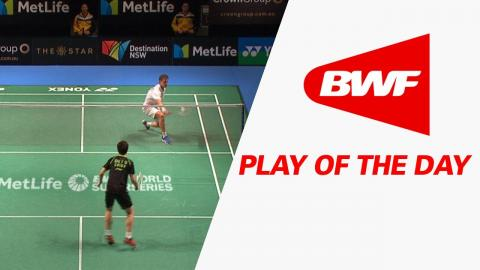 Play Of The Day | Badminton QF - CROWN GROUP Australian Open 2017