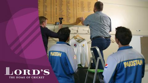 Misbah-ul-Haq & Yasir Shah see their names go up on the Lord's Honours Board