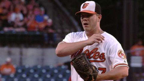 WSH@BAL: Bundy strikes out four in six strong innings
