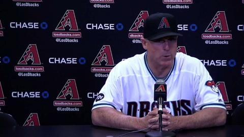 SD@ARI: Hale analyzes 10-3 loss to Padres