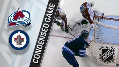 02/16/18 Condensed Game: Avalanche @ Jets