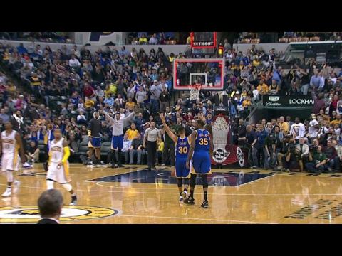 Stephen Curry Hits the 75-Footer Just a Second Late | 11.21.16