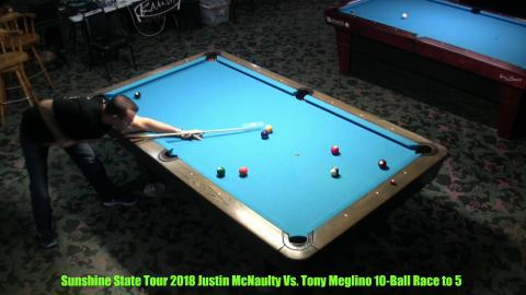 Sunshine State Tour 2018 Anthony Meglino VS Justin McNaulty  Race to 7
