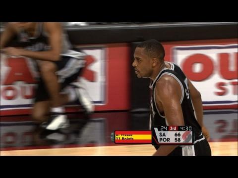 Steve Smith Drains 8 Threes vs Portland | 11.03.2001