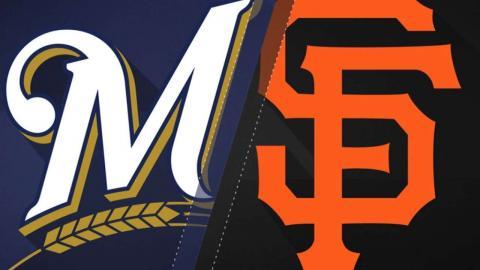 8/22/17: Balanced offense, bullpen sparks Brewers