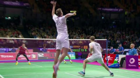 Badminton Unlimited | Denmark Men's Doubles Mads & Mads