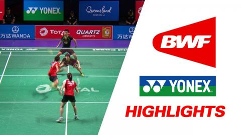 TOTAL BWF Sudirman Cup 2017 | Badminton SF – CHN vs JPN – Highlights