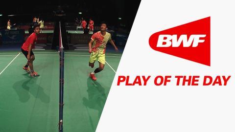 Play Of The Day | Badminton QF – XIAMENAIR Australian Badminton Open 2016