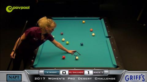 #2 - 10 BALL - Eleanor CALLADO vs Kaylin WIKOFF - 2017 NAPT Desert Challenge