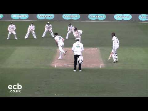 Notts bowlers on top against Surrey on Day 2