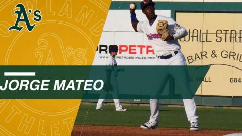 Top Prospects: Jorge Mateo, SS, Athletics