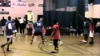 My First Pro Basketball Exposure Camp [2005] Pt. 5   Dre Baldwin