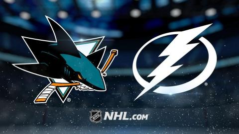 Johnson, Kucherov lead Lightning past Sharks, 5-2