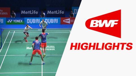 Dubai World Superseries Finals 2015 | Badminton Day 3 – Highlights