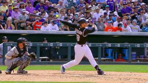 MIA@COL: Arenado hits two homers in game vs. Marlins
