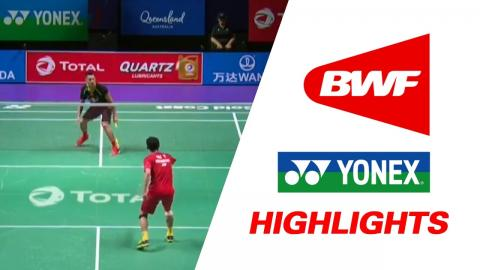 TOTAL BWF Sudirman Cup 2017 | Badminton Day 1 Grp 1A-CHN vs HKG – Highlights