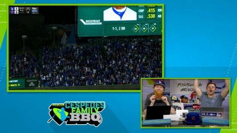 CFBBQ guys watch Turner's homer in Game 4 of NLCS