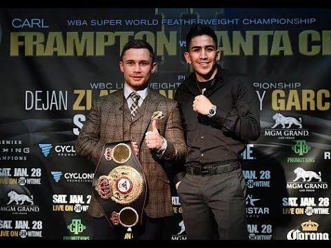 Carl Frampton vs Leo Santa Cruz Rematch Fight Analysis Breakdown & Prediction !