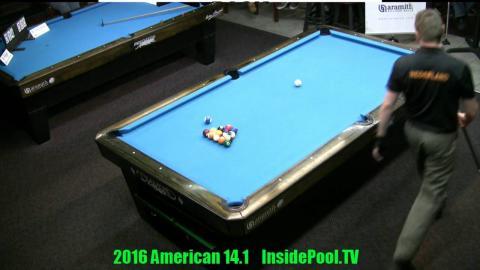 Finals 2016 American 14.1 Tournament Niels Feijen VS Mika Immonen Race to 150