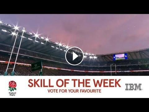 Rugby Insight: Skill of the Week, England v Samoa