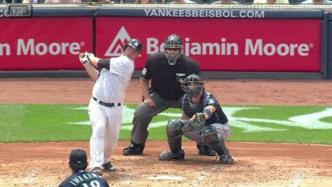 SEA@NYY: McCann's two-run homer ties the game