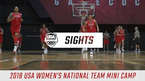 Sights and Sounds: 2018 USA Women's National Team Minicamp