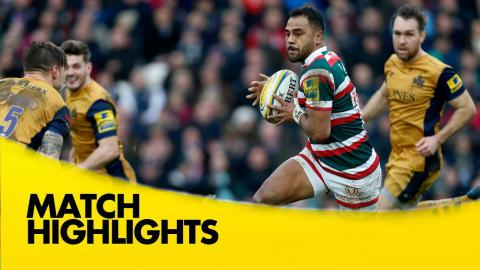 Leicester Tigers v Bristol Rugby - Aviva Premiership Rugby 2016-17