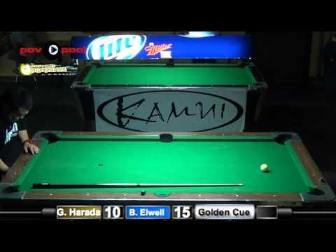 Finals! Greg Harada vs Brian Elwell Labor Day 9-Ball