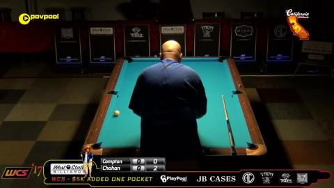 #5 Chip COMPTON vs Tony CHOHAN / 2017 WCC One Pocket