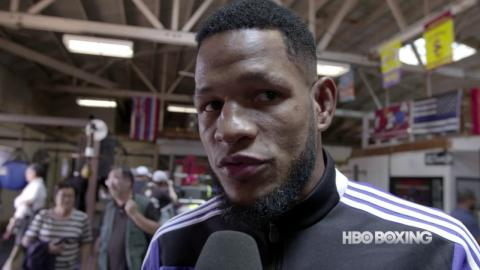 HBO Boxing News: Sullivan Barrera Interview (HBO Boxing)
