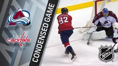 12/12/17 Condensed Game: Avalanche @ Capitals