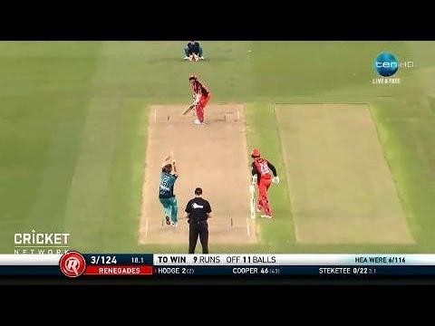Melbourne Renegades v Brisbane Heat, BBL|07