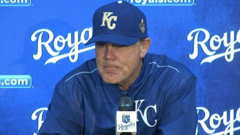 BAL@KC: Yost on 4-2 win against the Orioles